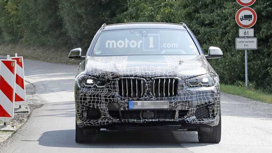 2019 BMW X6 Yeni Casus Fotoğrafları