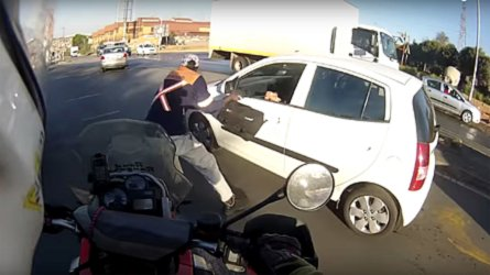 South African Rider Helps Stop Daylight Robbery