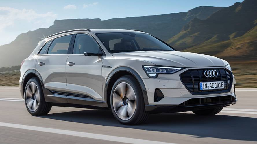 Audi e-tron, official photos