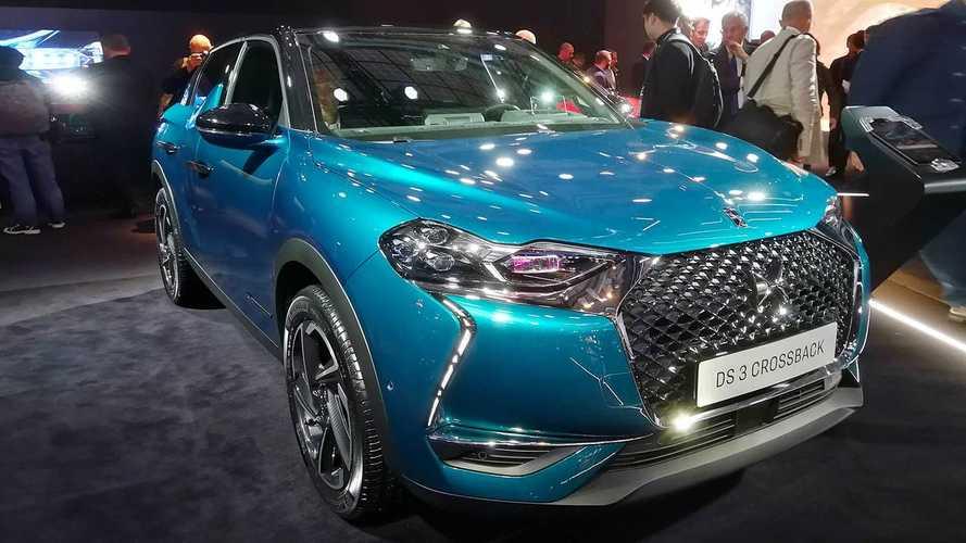 DS 3 Crossback - Sitzprobe Pariser Autosalon 2018