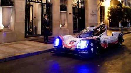 La Porsche 919 Hybrid sera à Paris ce dimanche 7 octobre !