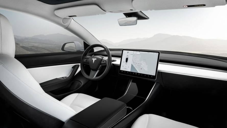 "Tesla Model 3 Pulled Over By Police For ""Computer"" On Dash"