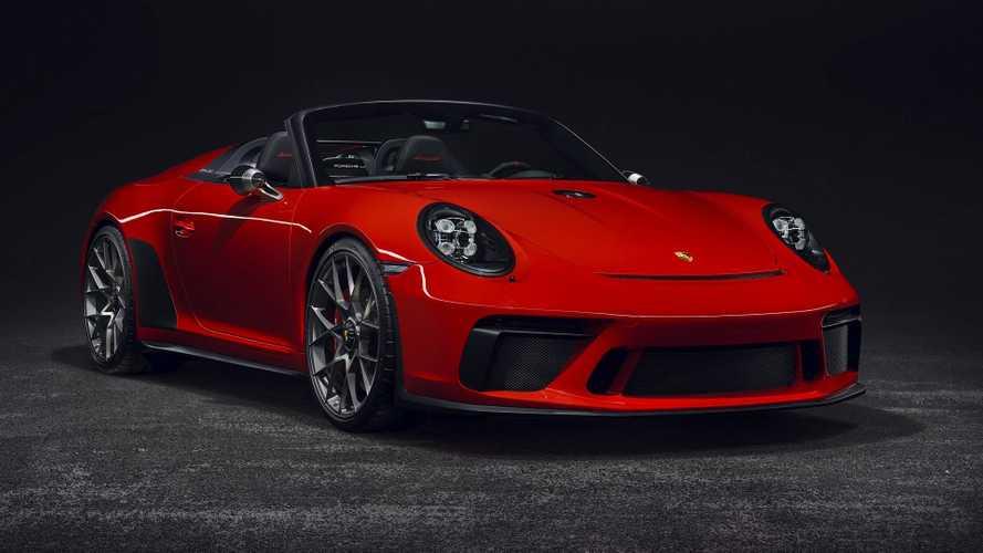 Porsche 911 Speedster 2019 concept car