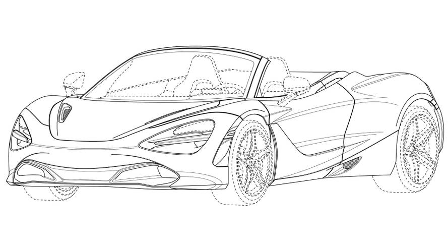 McLaren 720S Spider is coming, and here's proof