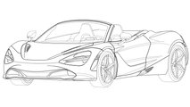 McLaren 720S Spider Design Trademark