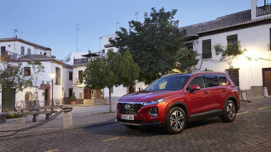 Hyundai Santa Fe 2019 primera prueba