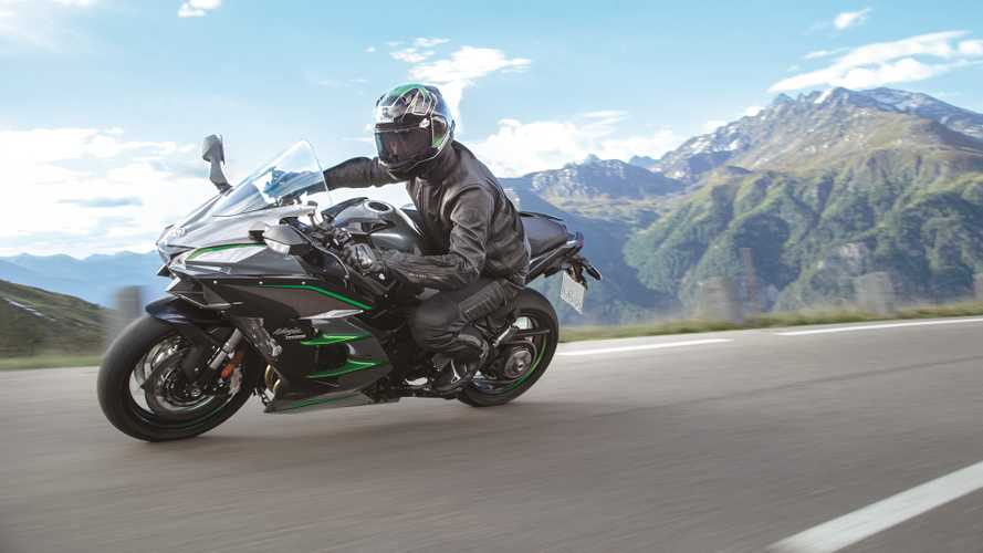 The Kawasaki Ninja H2 SX SE+ Gets More Tech