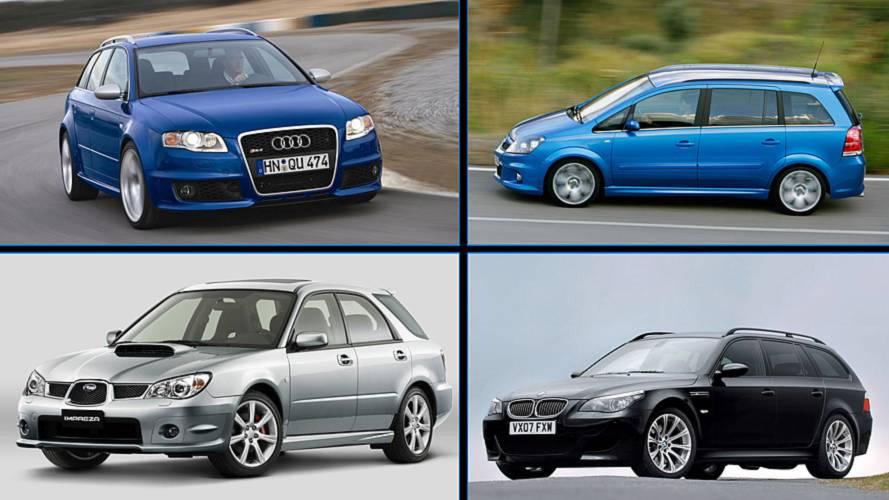 8 coches familiares, de segunda mano, con prestaciones de deportivo