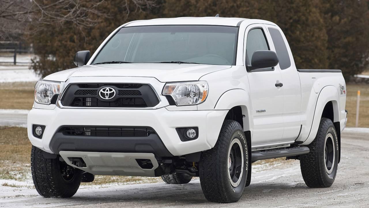 17. Toyota Tacoma –$2,932-$4,448