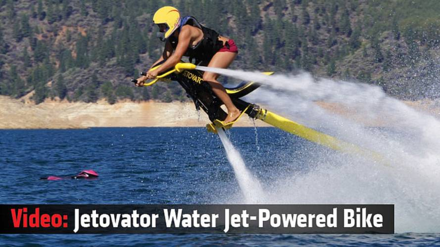 Video: Jetovator Water Jet-Powered Bike