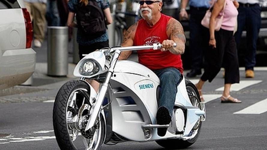 Orange County Choppers builds electric motorcycle, breaks the law