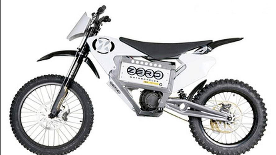2009 Zero X beefs up electric dirt bike