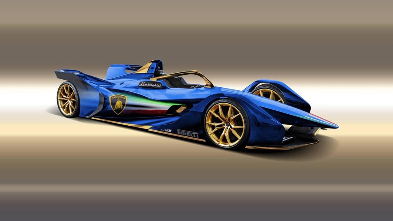 Lamborghini Formula E
