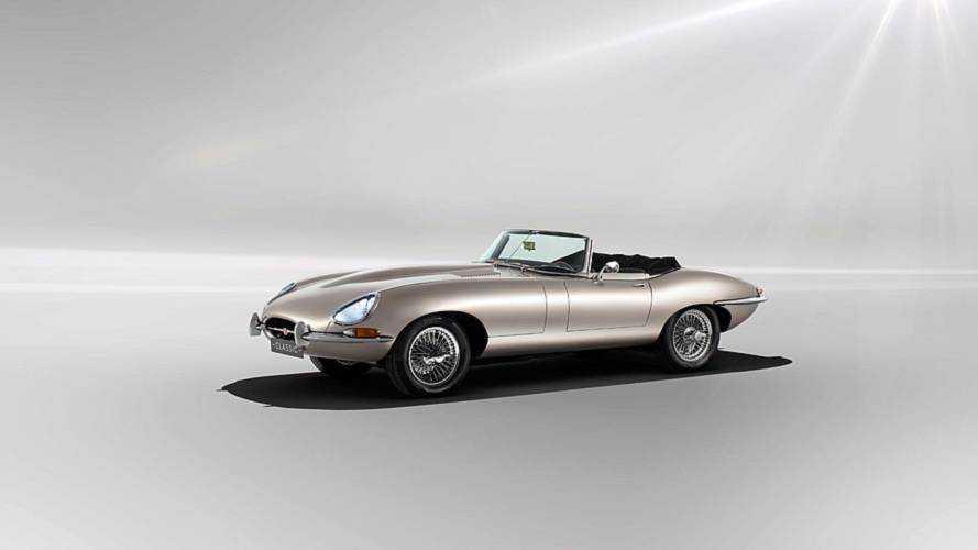 Jaguar electrificará E-Type clásicos de manera oficial