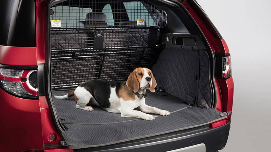 Land Rover pampers pooches with new Pet Packs