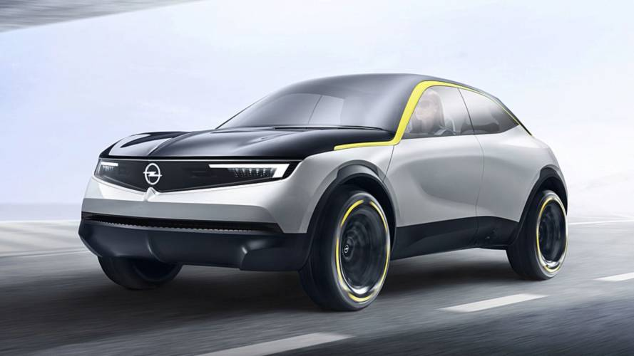 Opel GT X Experimental Concept Previews Brand's Next-Gen Models