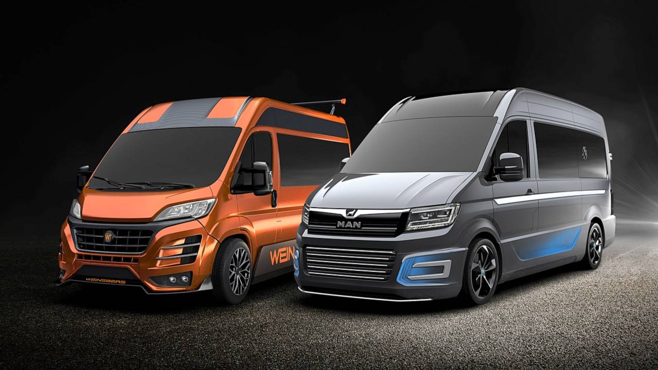 CUVision and CUVolution concept vans