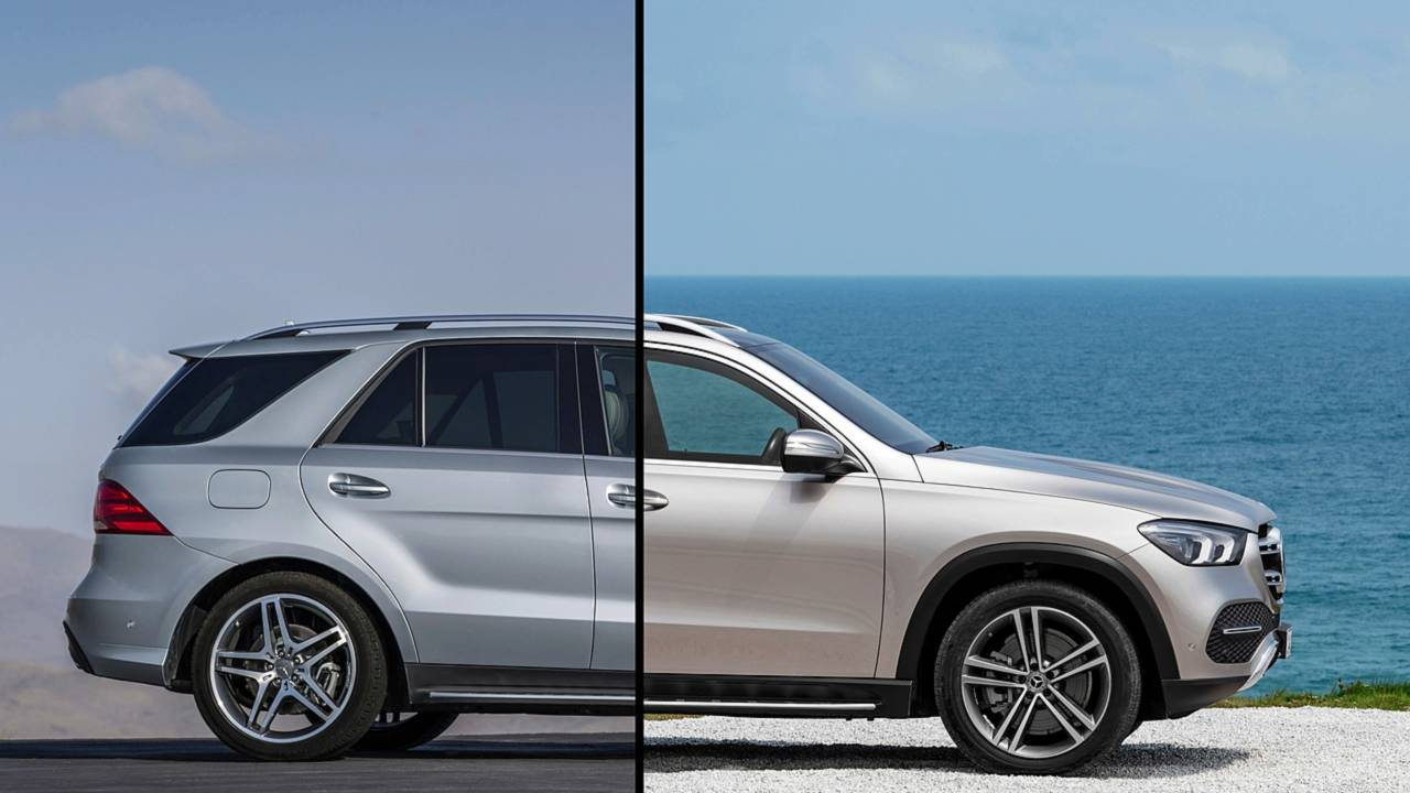 Mercedes GLE-Class Side-By-Side