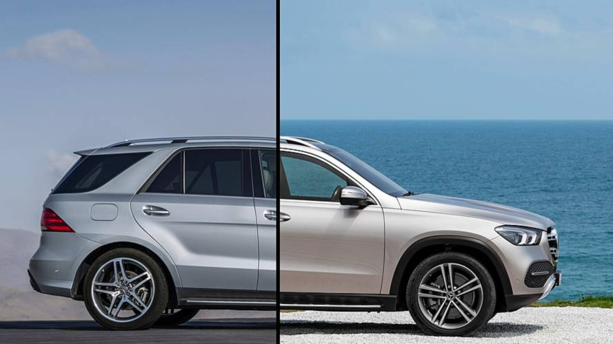 2019 Mercedes-Benz GLE-Class: Changes side-by-side