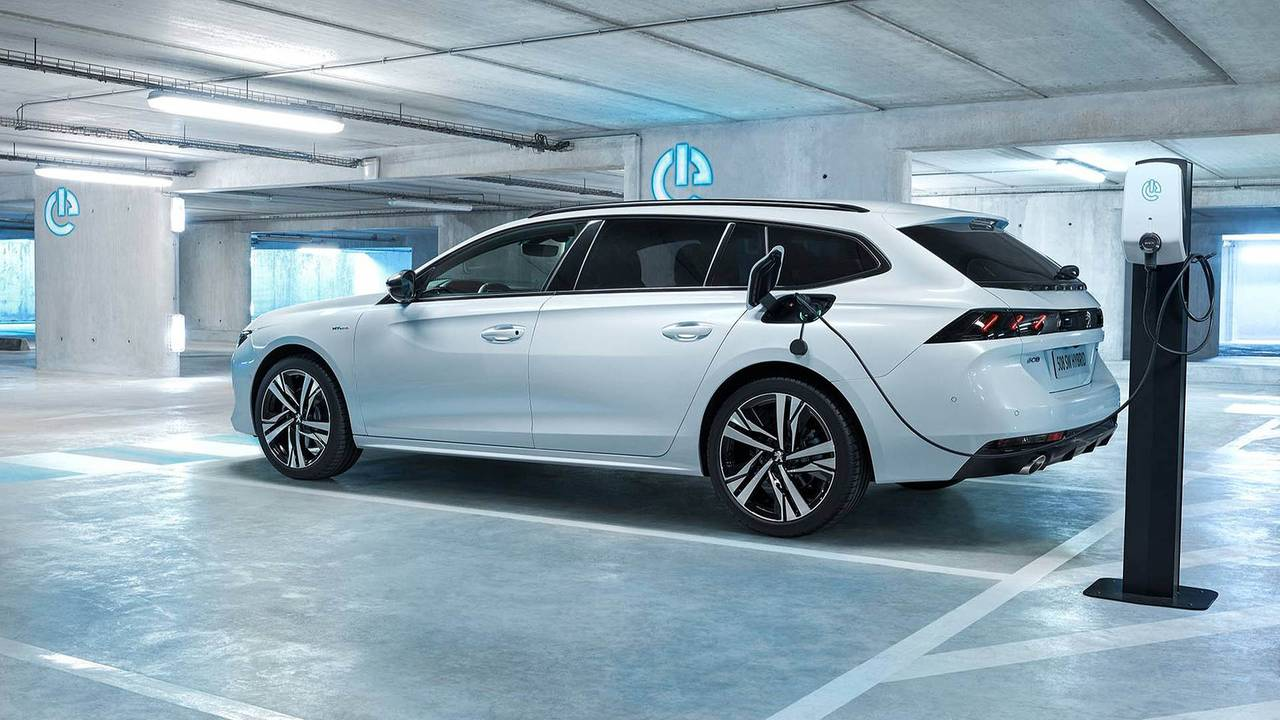 Peugeot mit Plug-in-Hybrid