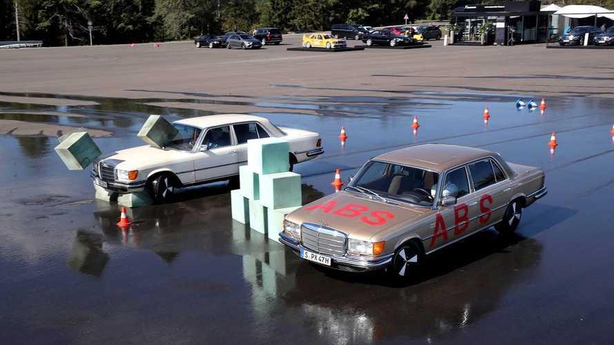 40 Jahre ABS bei Mercedes: Als die Elektronik ins Auto kam