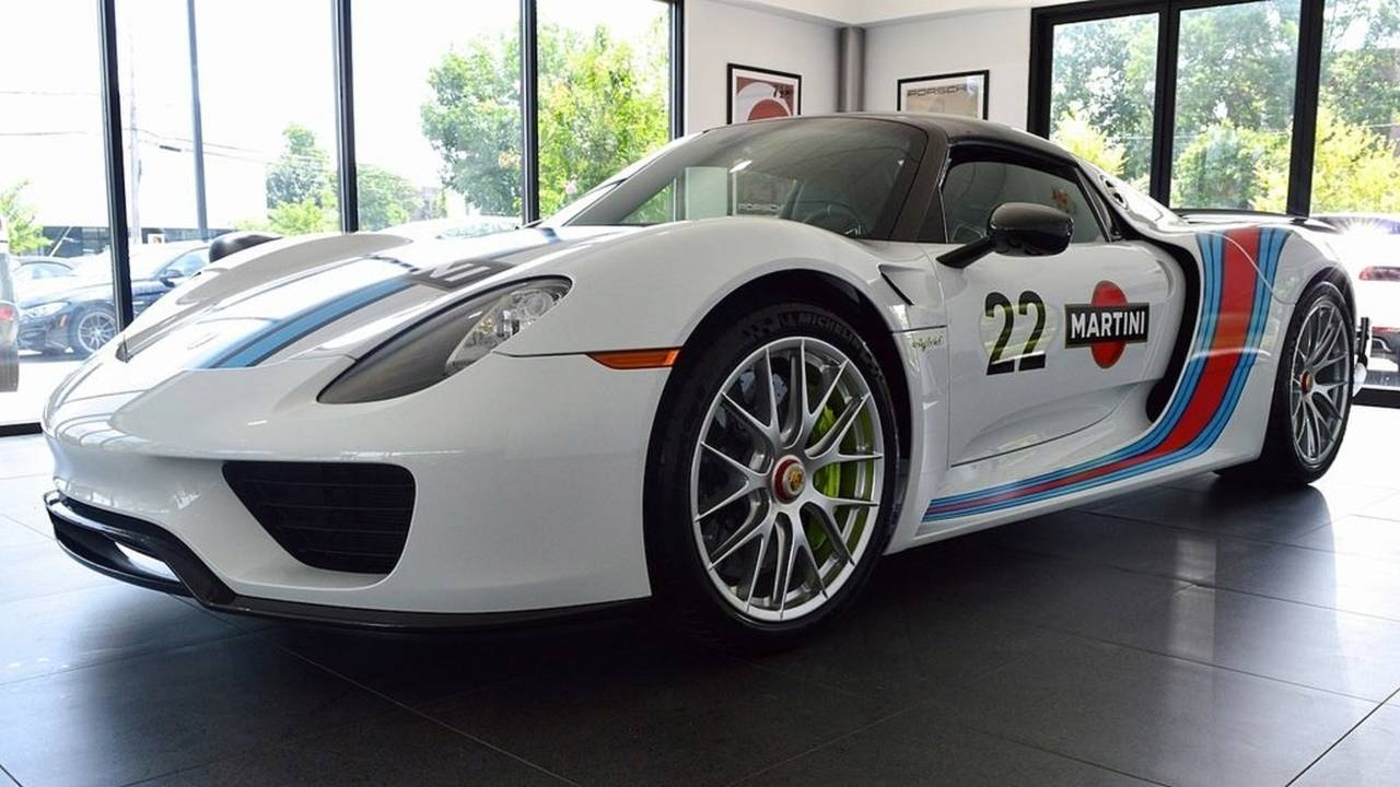 Take Home This 45,Mile Porsche 918 Weissach For A Cool $2.2
