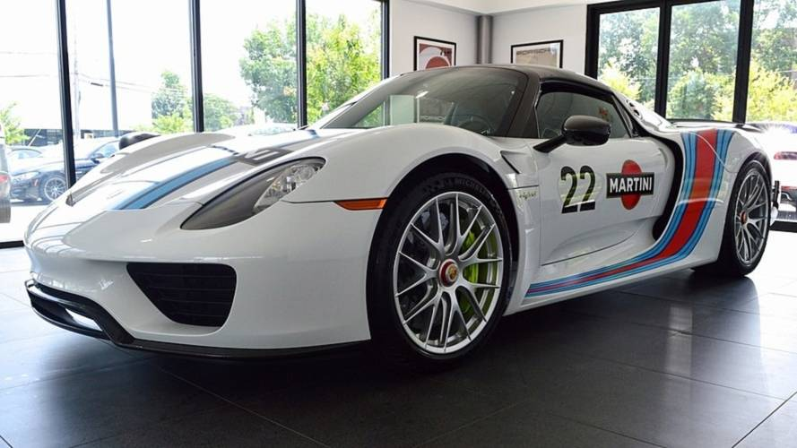 Take home this 45-mile Porsche 918 Weissach for a cool £1.7 million