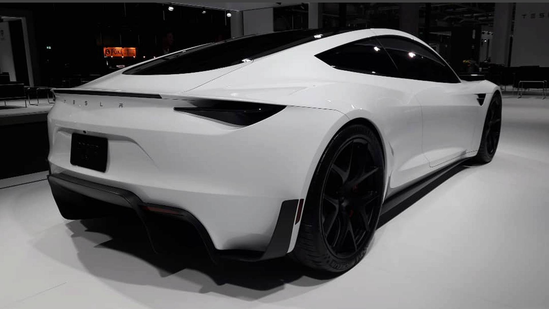 Tesla Roadster Makes European Debut At Grand Basel