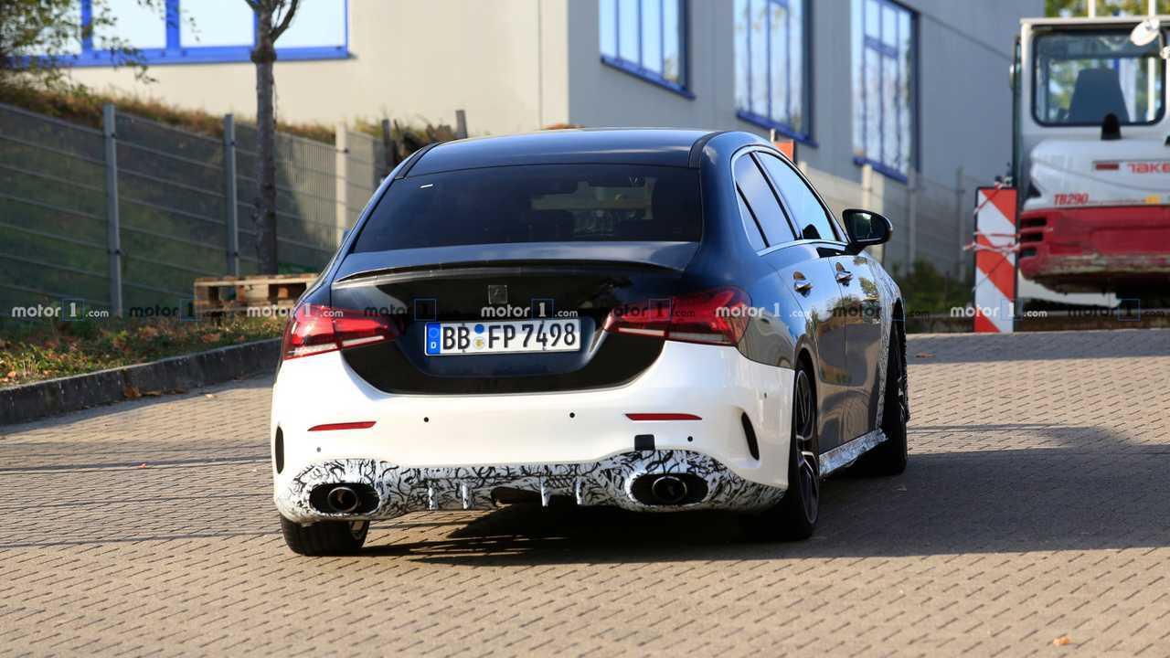 Mercedes-AMG A35 Sedan Spy Photo