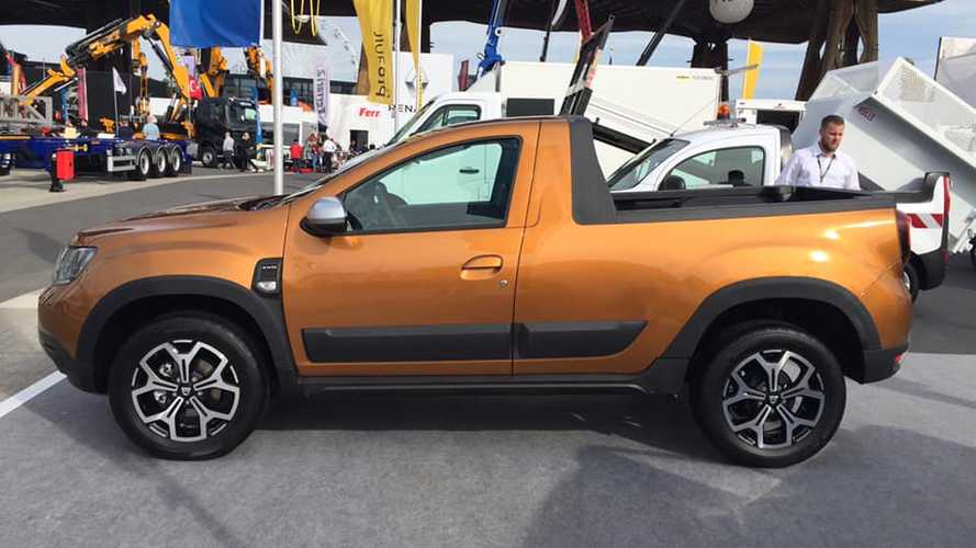 Descubre este Dacia Duster transformado... ¡en un pick-up!