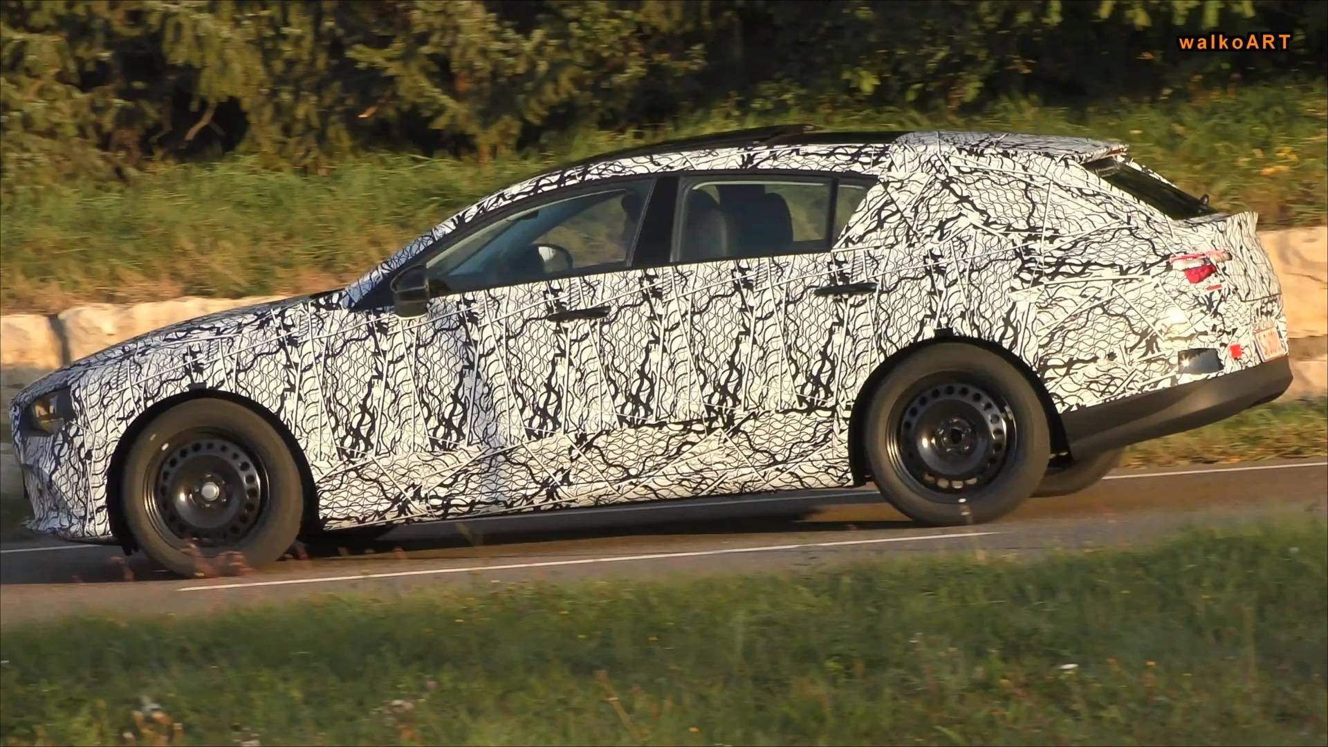 2020 Mercedes Cla Shooting Brake Makes Surprise Spy Debut