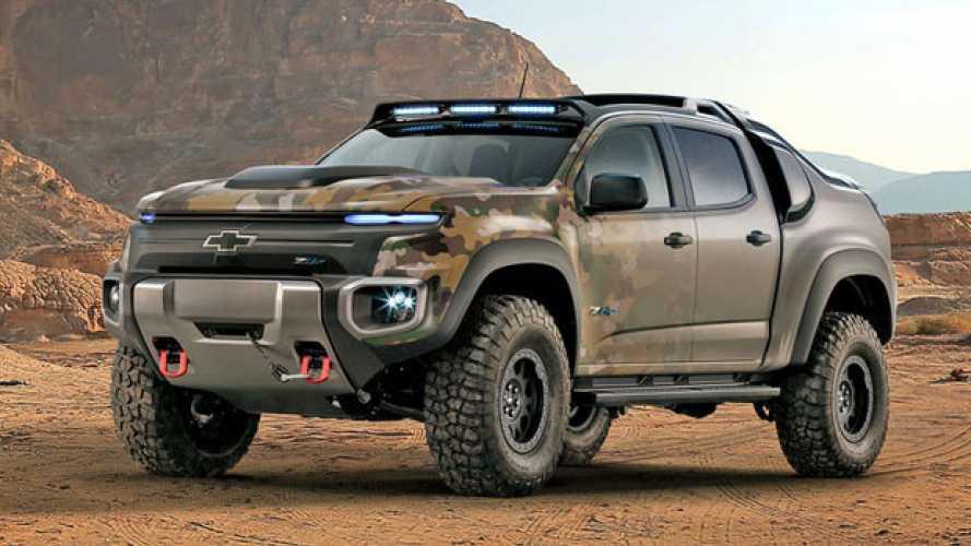 Chevrolet Colorado a idrogeno per l'esercito USA