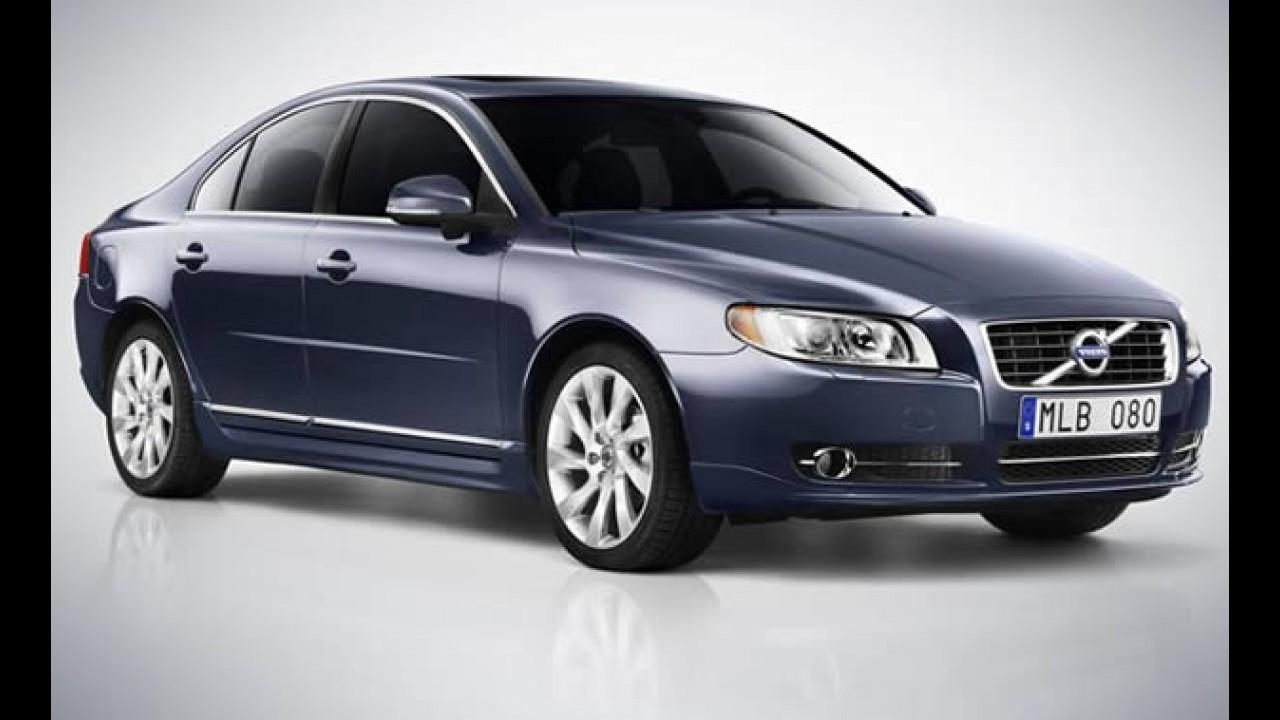 Volvo convoca recall de 69 unidades no Brasil - Chamado envolve modelos S60 e S80