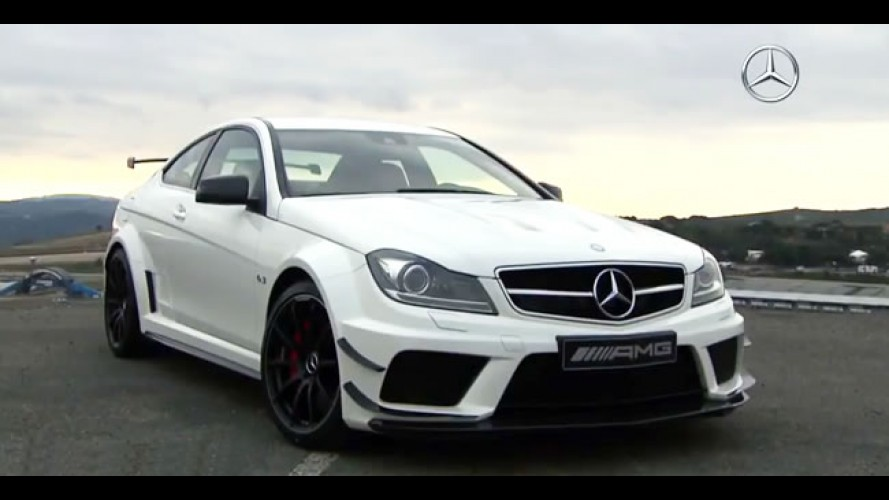 Vídeo: Mercedes-Benz C63 AMG Black Series Coupé