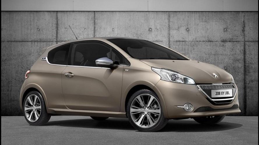 Peugeot 208 agrega luxo e som de primeira na série especial XY JBL