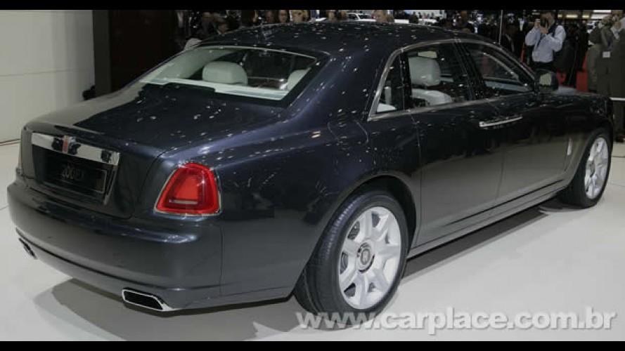 """Rolls Royce informa que batizará seu modelo de """"entrada"""" com o nome Ghost"""