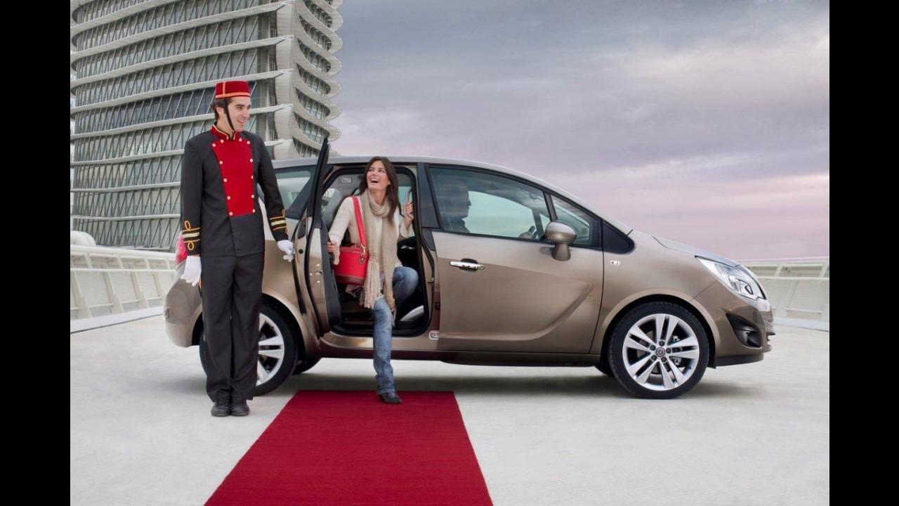 VÍDEO: Veja a Nova Opel Meriva em movimento e a abertura das