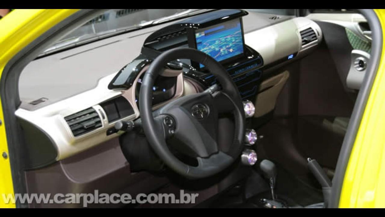 Scion iQ Concept 2009 - Ultra-compacto da Toyota é apresentado