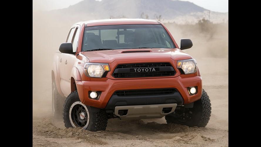 Chicago: Toyota revela pacote off-road TRD Pro para Tundra, Tacoma e 4Runner