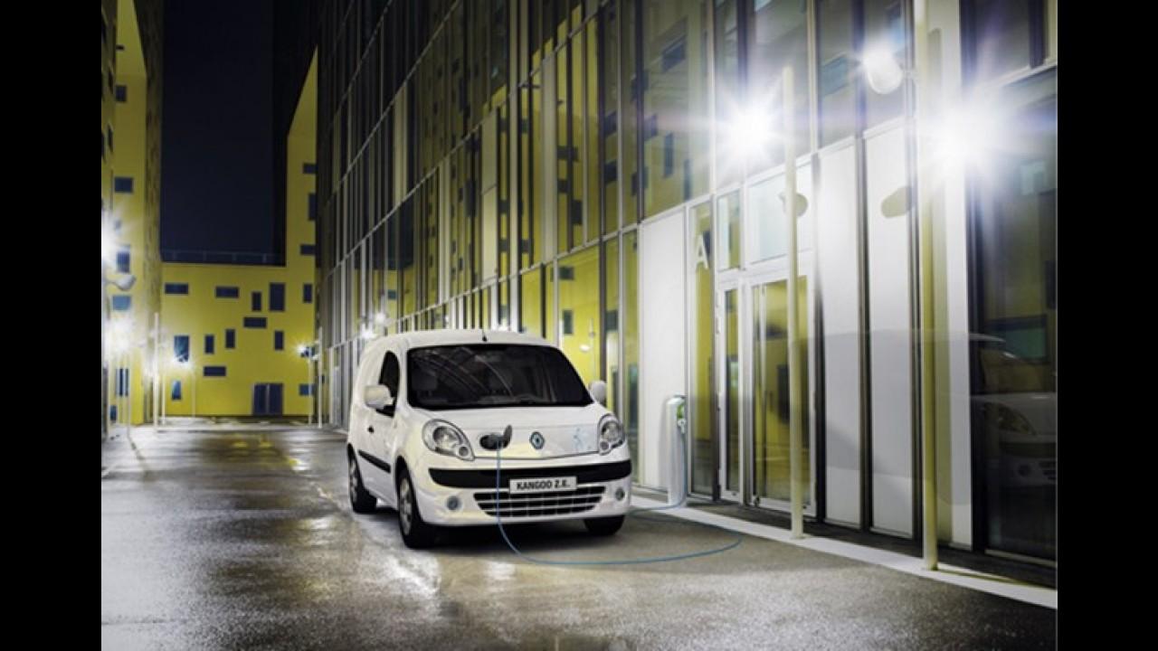 "Renault Kangoo Z.E. é eleito ""International Van of the Year 2012"""