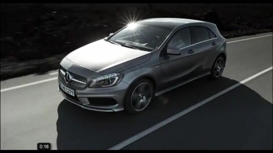 VÍDEO: Novo Mercedes Classe A em movimento