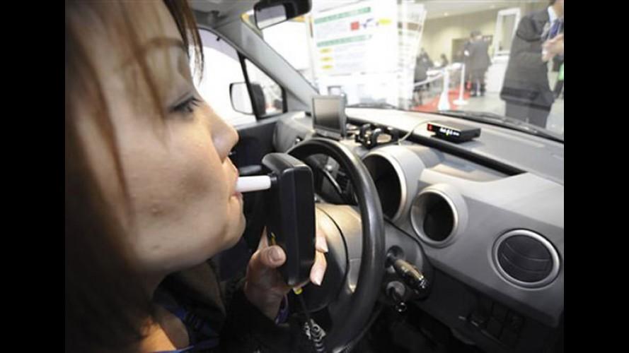 Sem embriaguez: Automóveis do futuro terão sensores de níveis de álcool