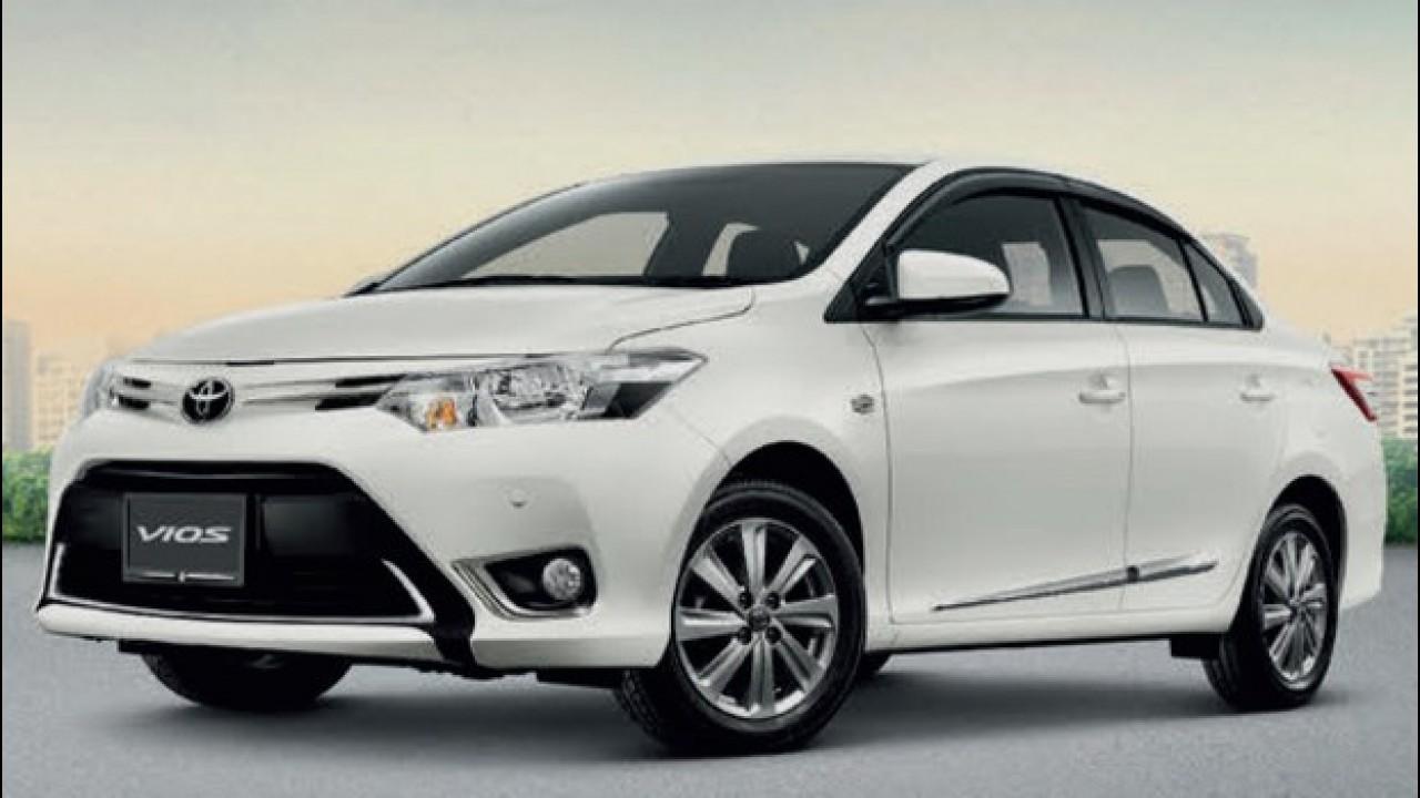 Veja imagens do Toyota Vios, possível rival do Honda City no Brasil