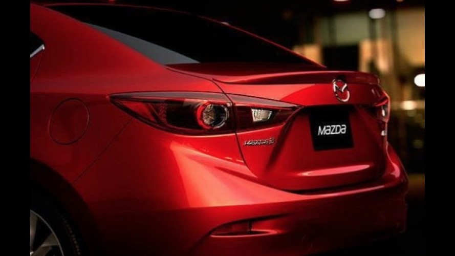 Seria este o primeiro teaser do Mazda3 sedan?