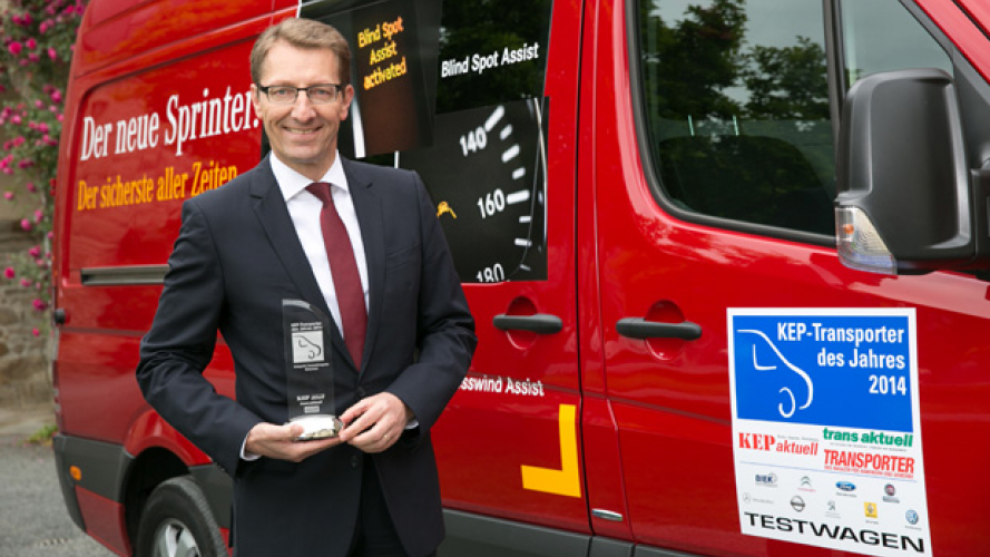 Mercedes top ai CEP Van of The year
