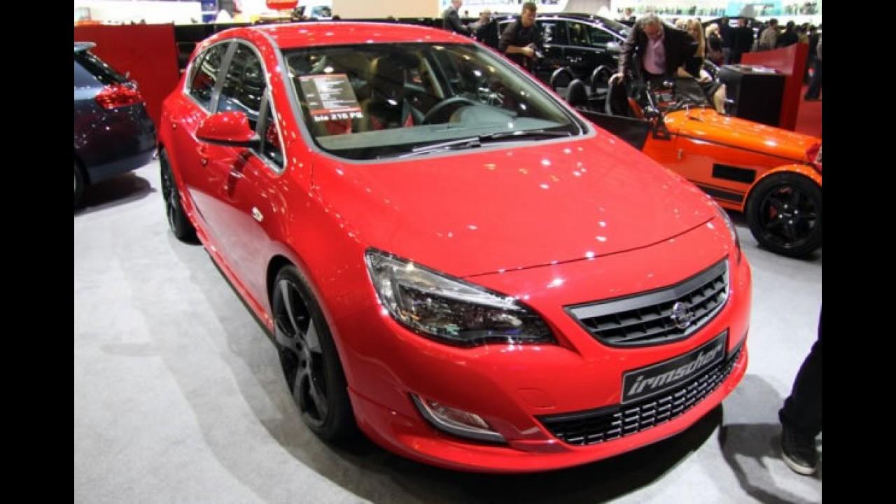 Novo Opel Astra tunado pela Irmscher também está em Genebra