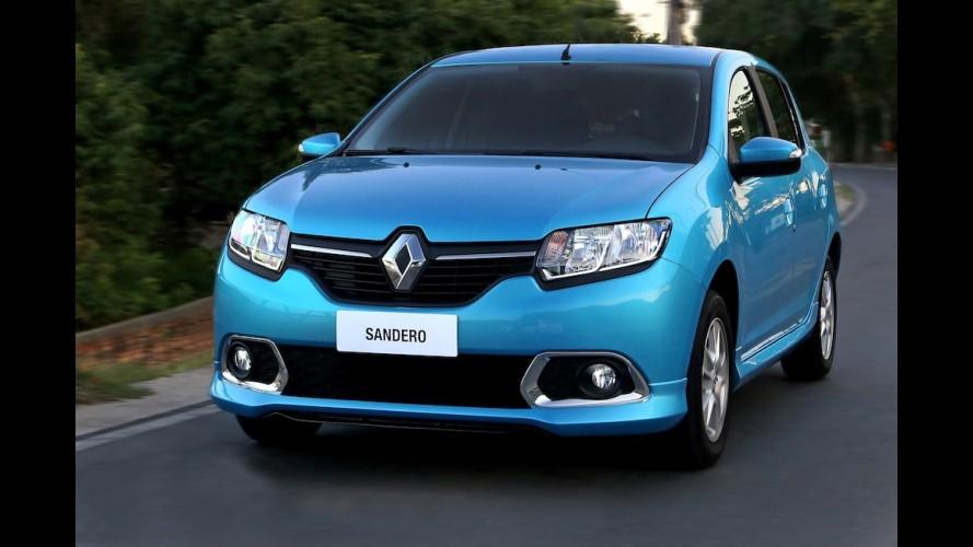 Renault Sandero pode receber versão esportiva RS, inclusive no Brasil