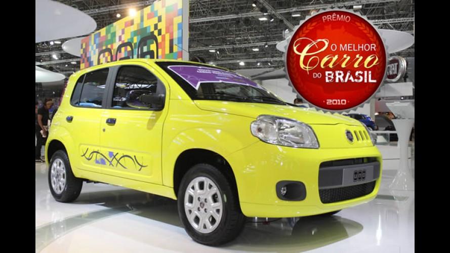 """Novo Uno é eleito """"O Melhor Carro do Brasil 2010"""""""
