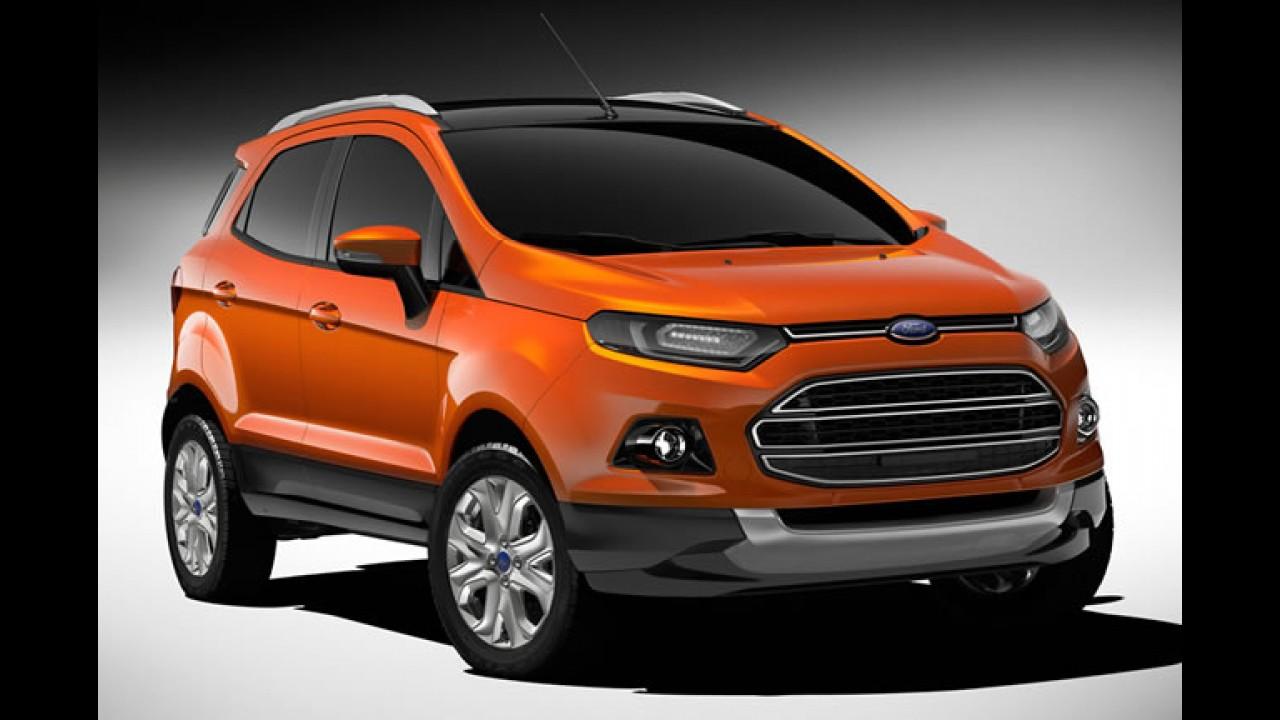 Novo Ecosport: Ford divulga fotos da nova geração