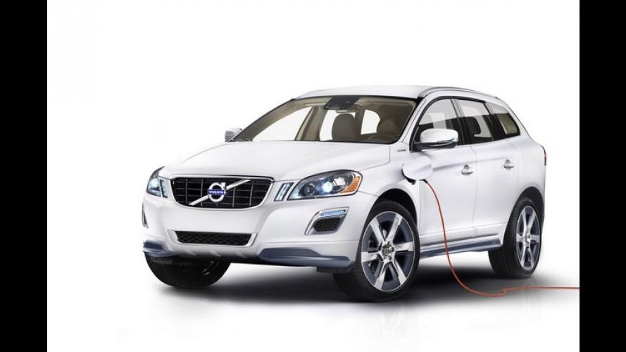 Híbrido: Volvo XC60 Hybrid Plug-in Concept será apresentado no Salão de Detroit